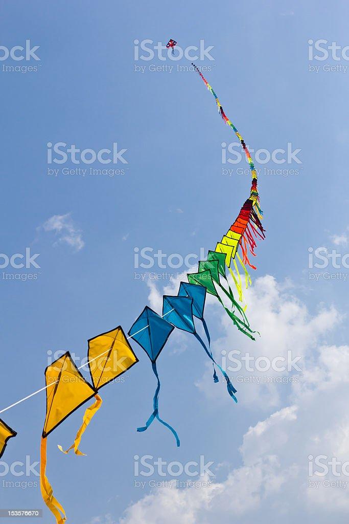 Colorato di kite foto stock royalty-free