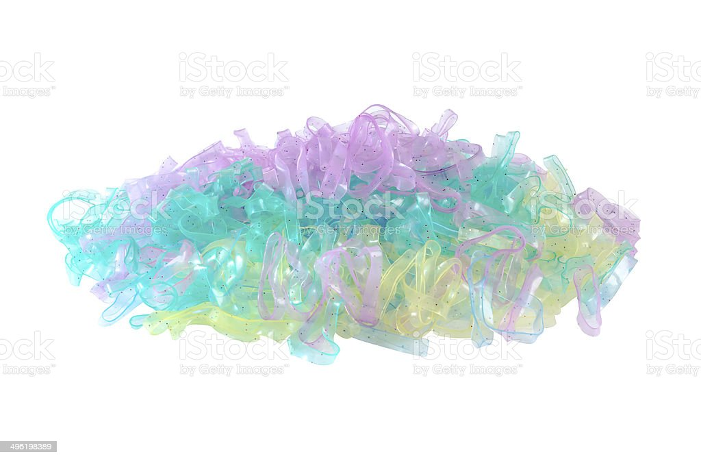 colorful of rubber royalty-free stock photo