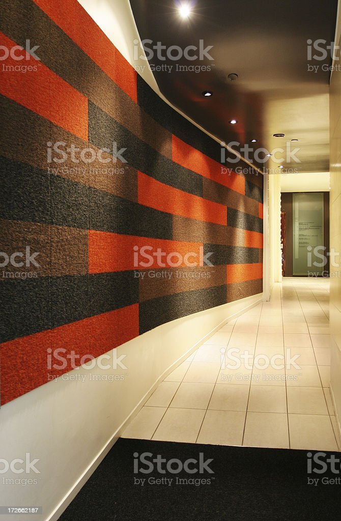 Colorful office entrance royalty-free stock photo