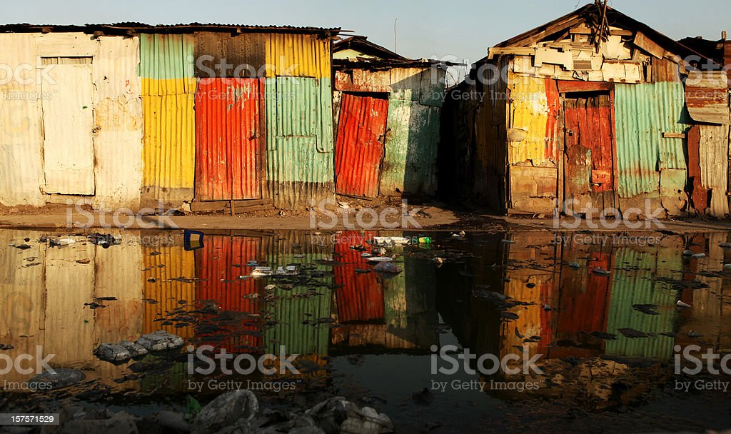 Colorful old houses royalty-free stock photo