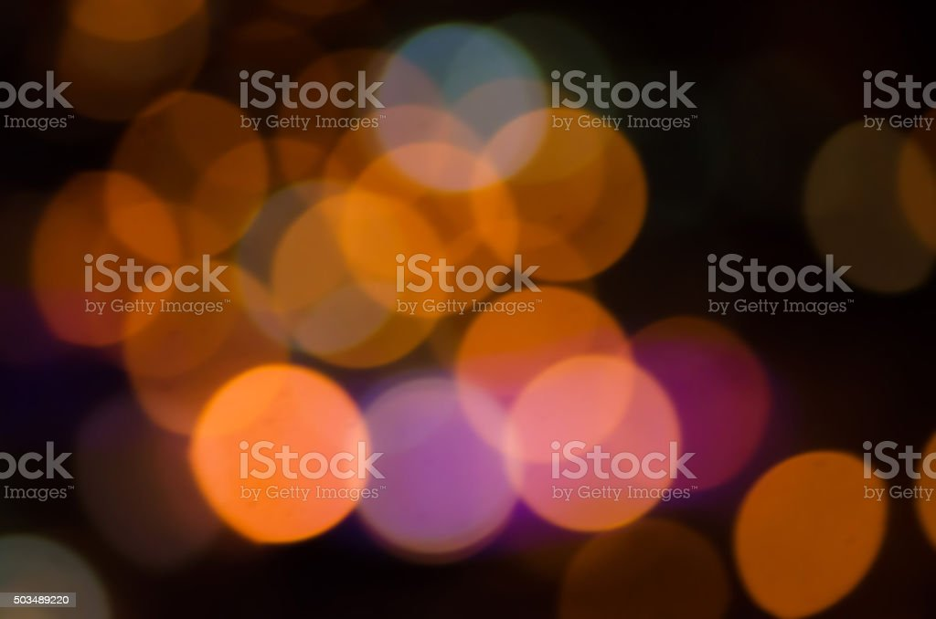 colorful out of focus lights bokeh stock photo