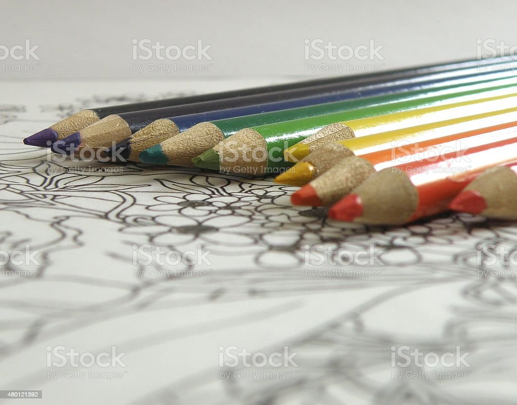 Colorful Pages stock photo