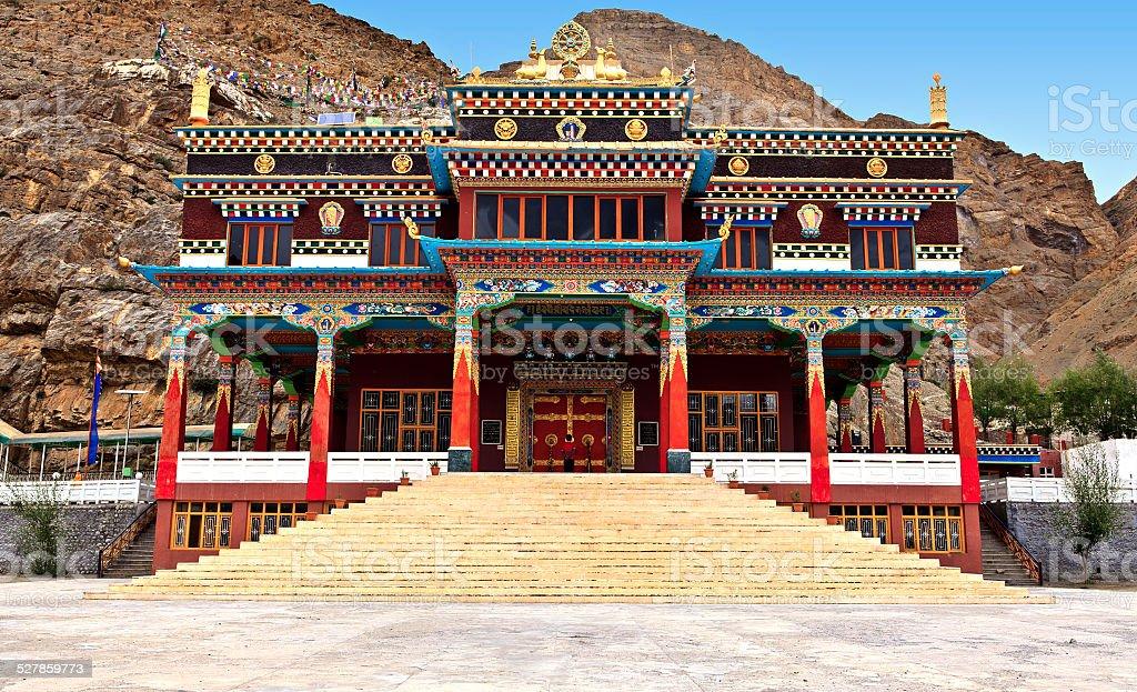 colorful pagoda stock photo