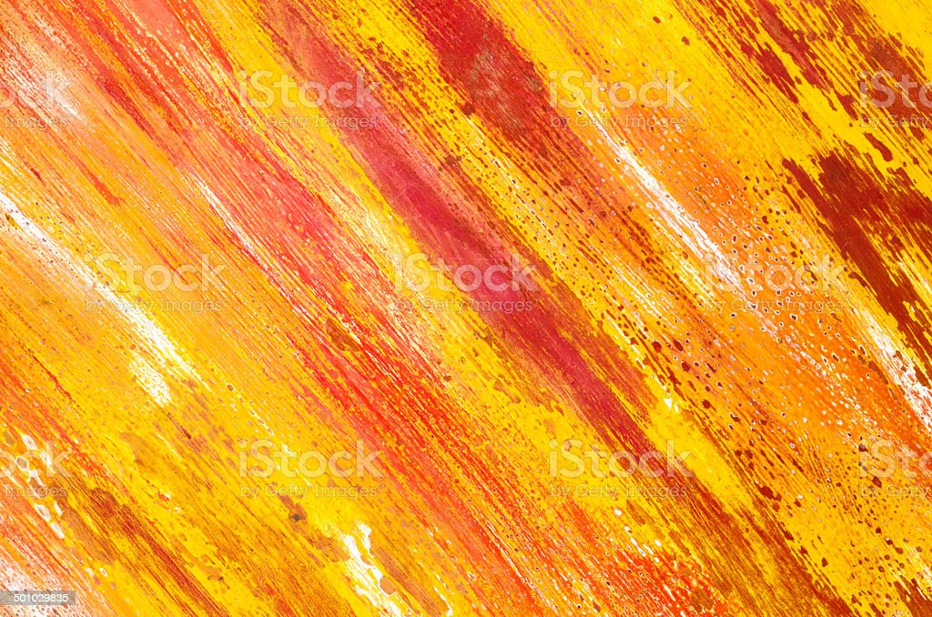 colorful paint on paper background stock photo