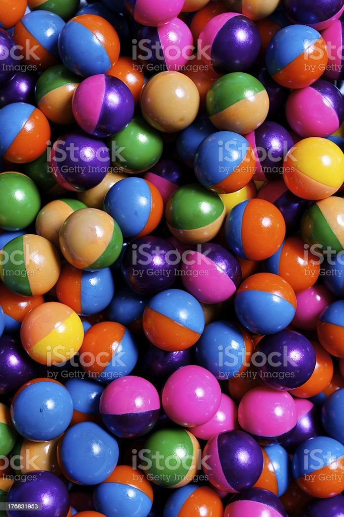 Colorful Paintballs royalty-free stock photo
