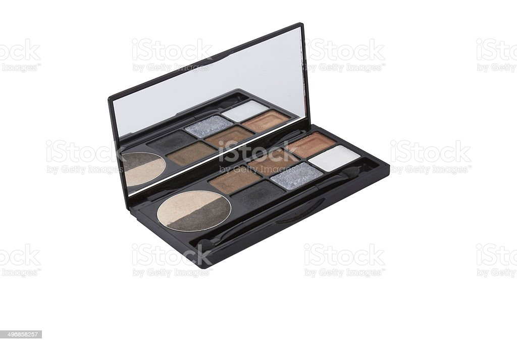 Colorful palette for makeup royalty-free stock photo