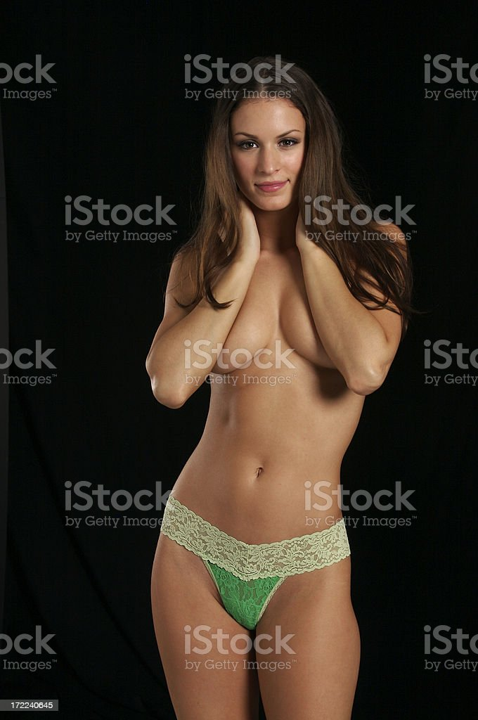 Colorful Panties Series royalty-free stock photo
