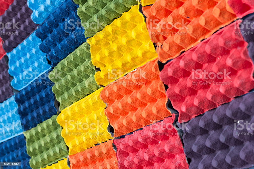 colorful  paper art background texture stock photo