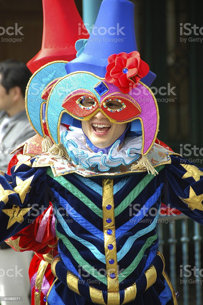 Colorful Parade royalty-free stock photo