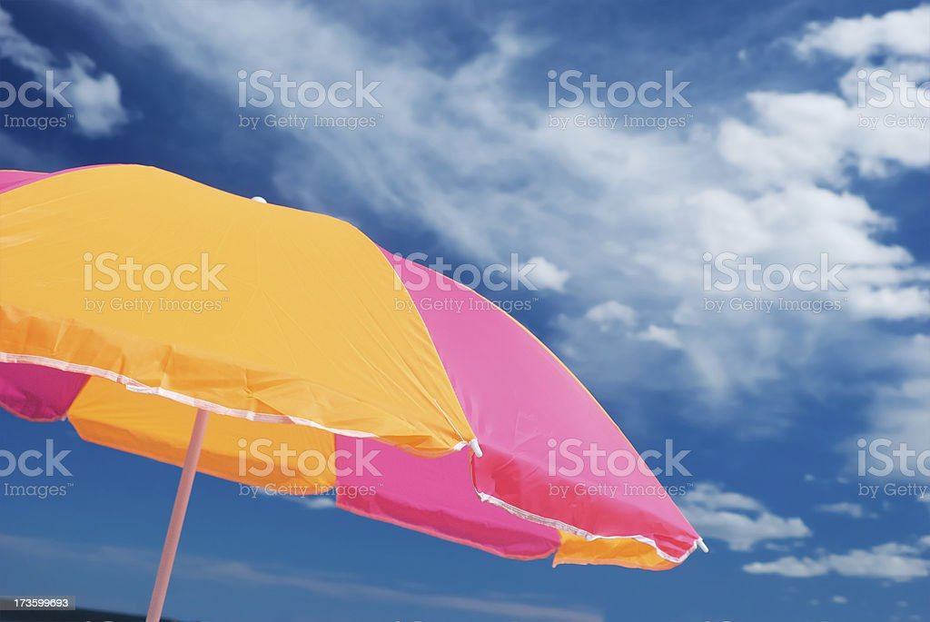 colorful parasol royalty-free stock photo