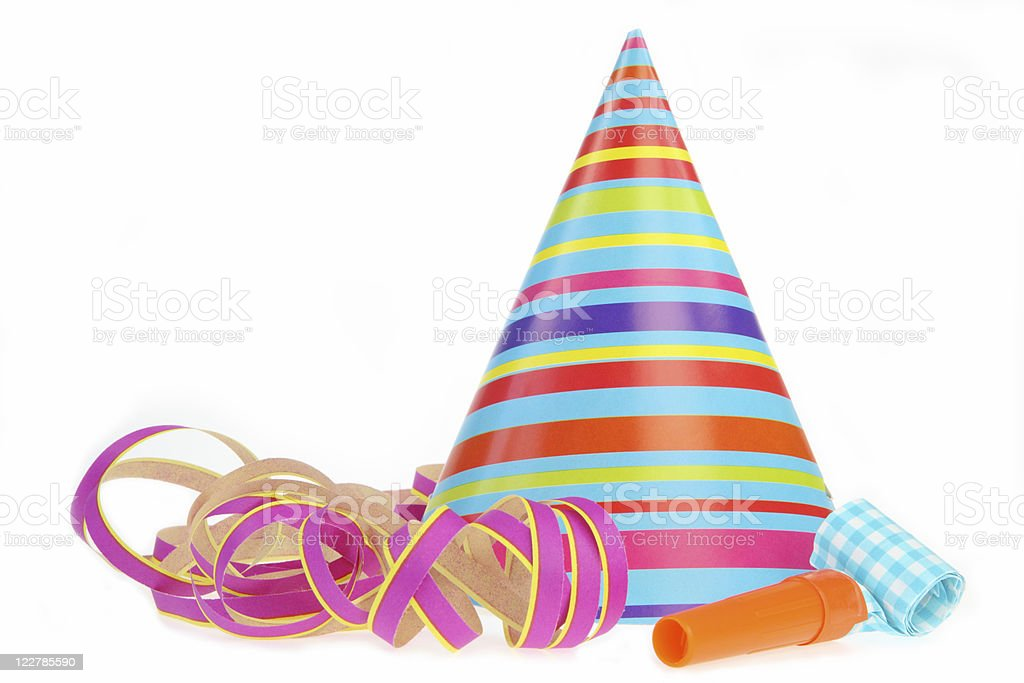 Colorful Party Set stock photo