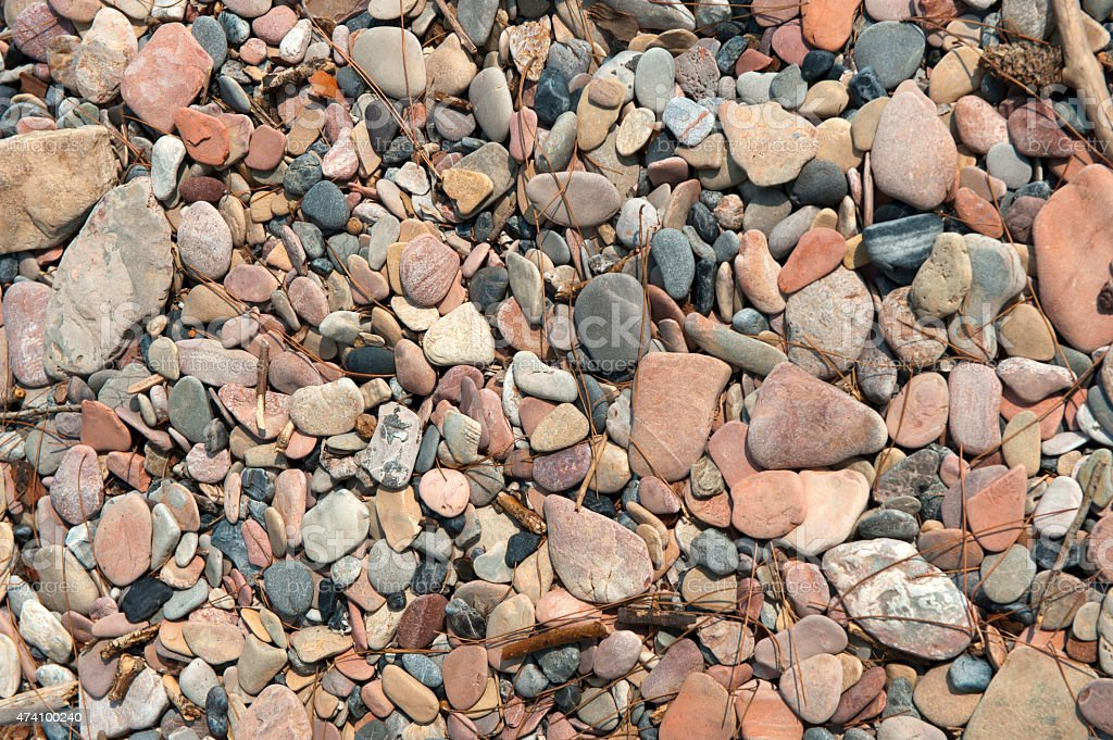 Colorful Pebble stock photo