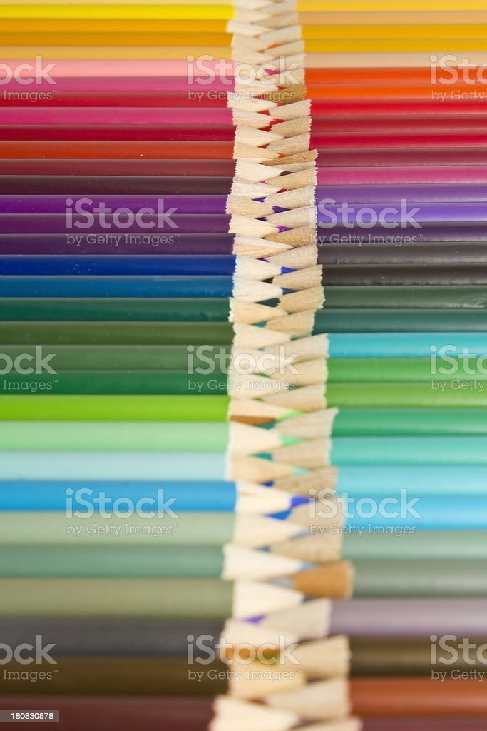 Colorful Pencils royalty-free stock photo