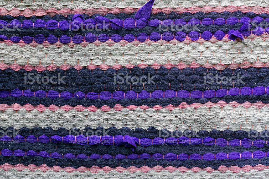 Colorful  peruvian style rug surface royalty-free stock photo