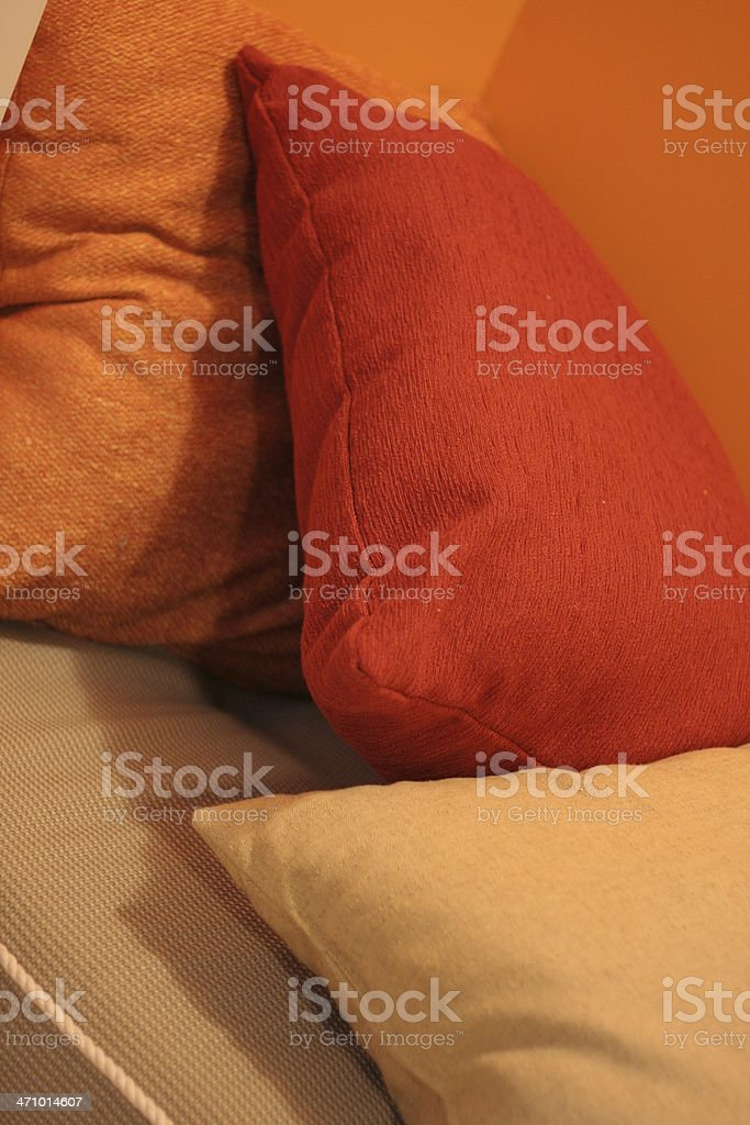 Colorful Pillows royalty-free stock photo