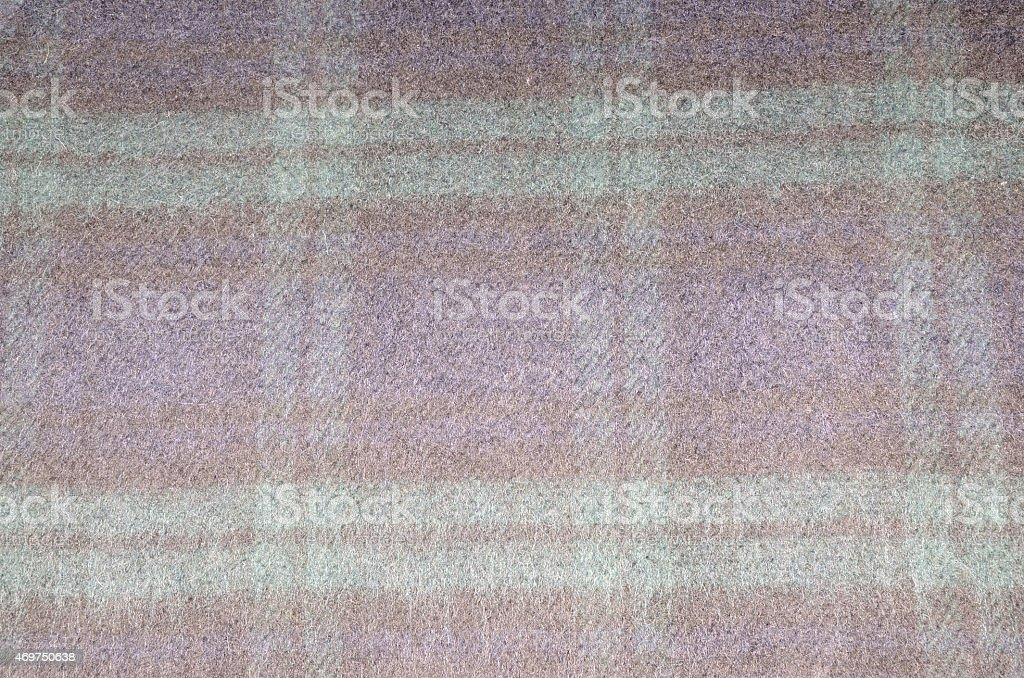 Colorful plaid blanket stock photo