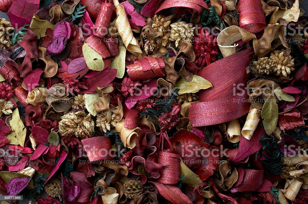 Colorful Potpourri royalty-free stock photo