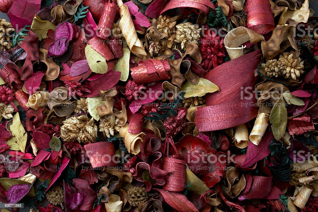 Colorful Potpourri stock photo