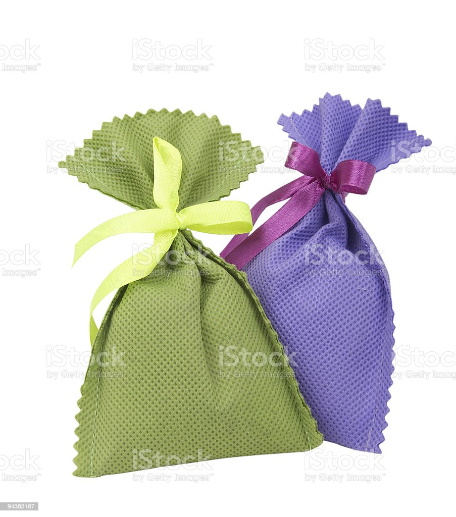 colorful  pouch royalty-free stock photo