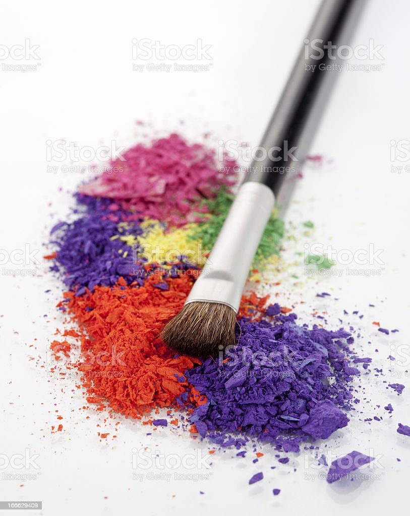Colorful Powder royalty-free stock photo