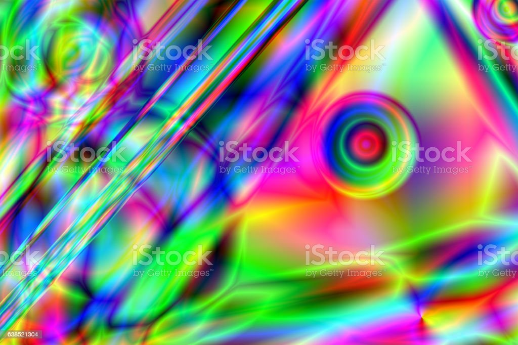 Colorful psychedelic background stock photo