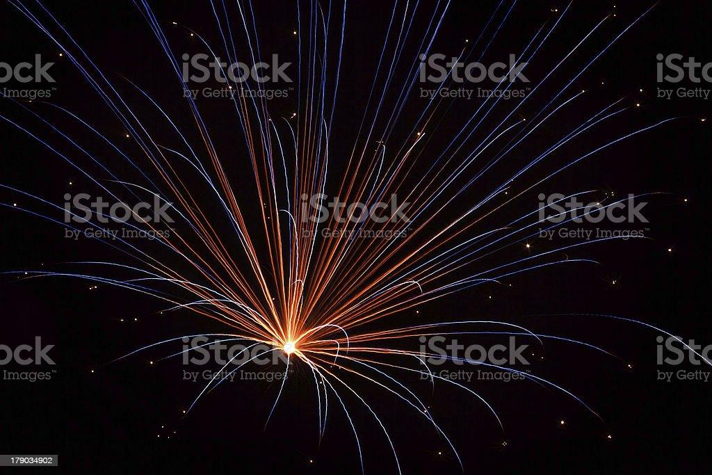D'artificio colorato foto stock royalty-free