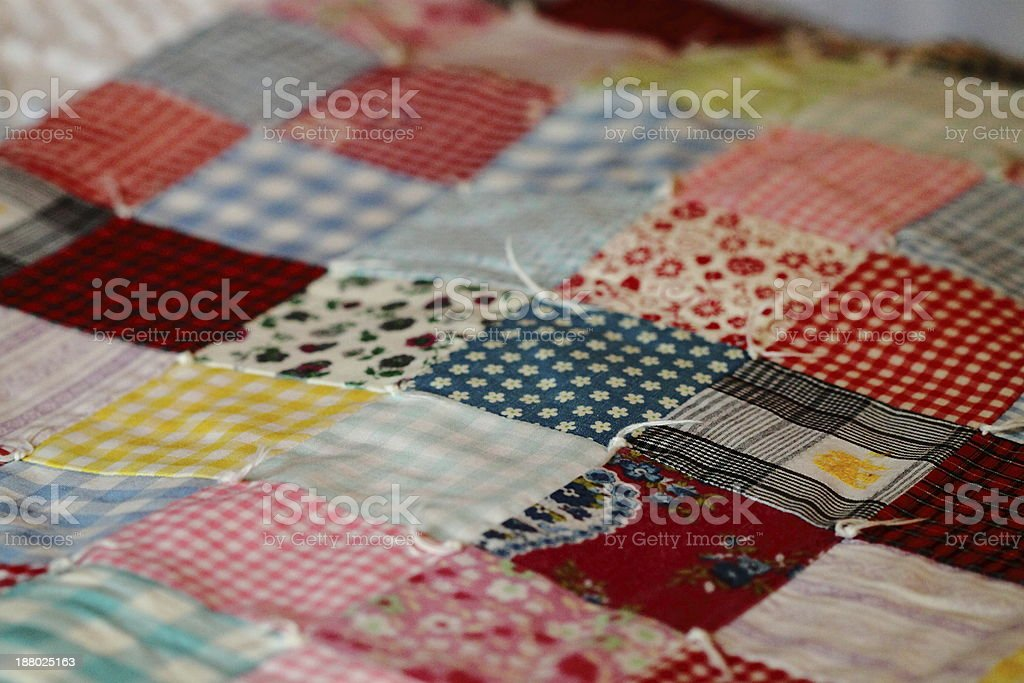 Colorful Quilt Blocks stock photo