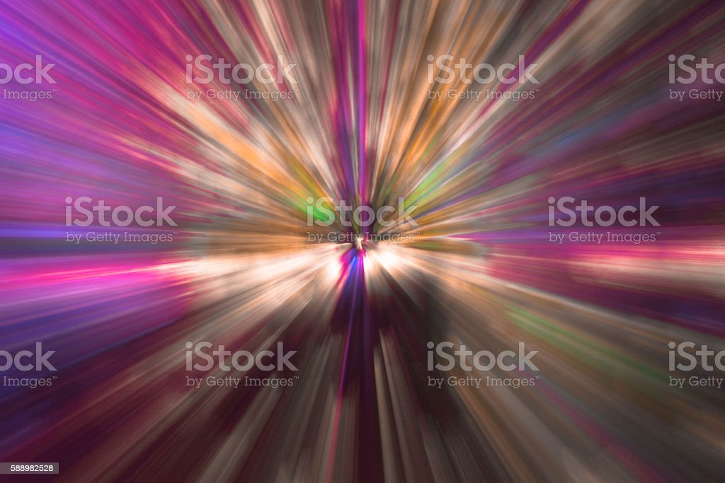 Colorful radial effect background stock photo