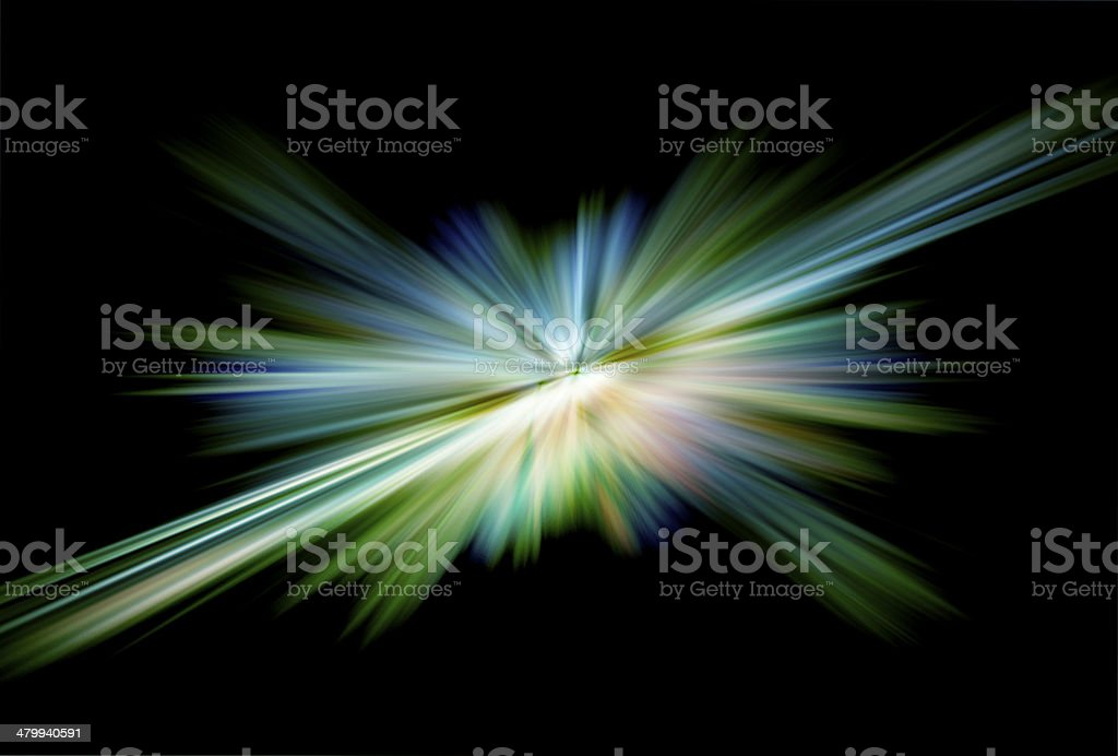 colorful radial radiant effect stock photo