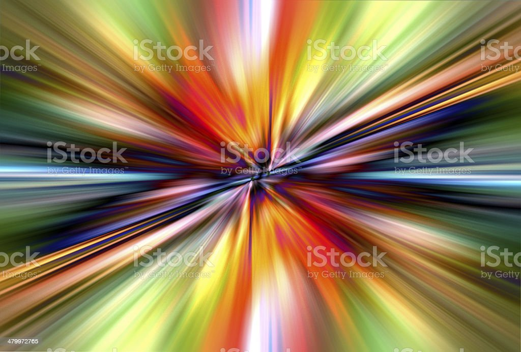 colorful radial radiant effect vector art illustration