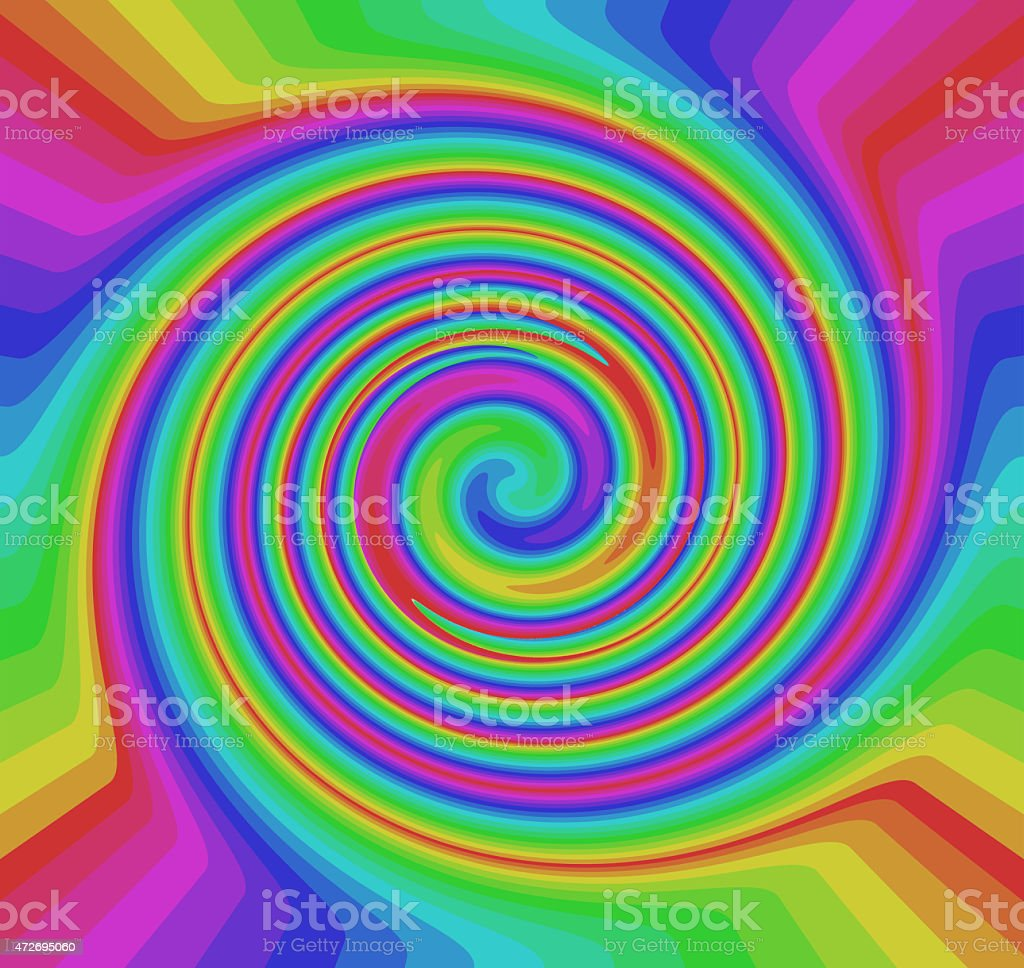 Colorful rainbow abstract background stock photo