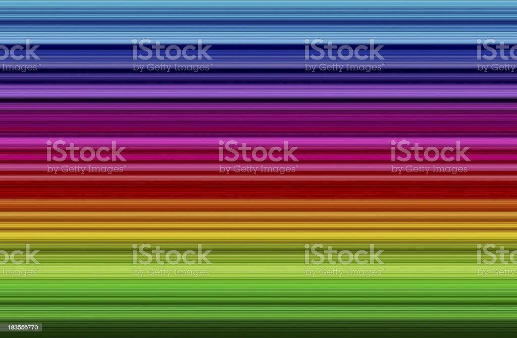 Colorful rainbow strip royalty-free stock photo