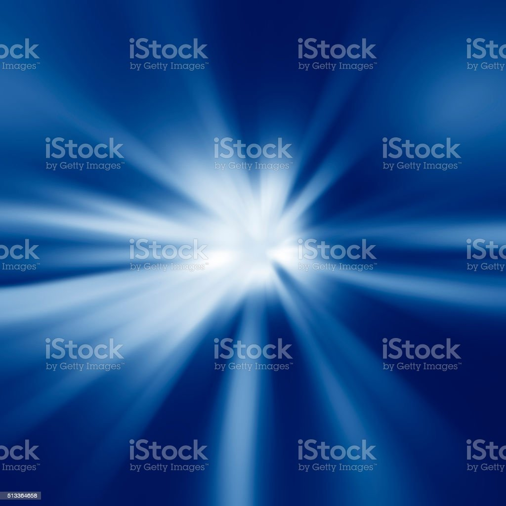 Colorful rays of light stock photo
