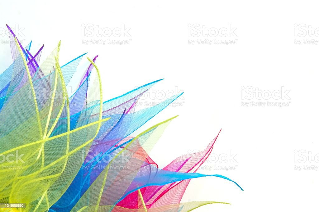 Colorful Ribbon Riot 3 stock photo