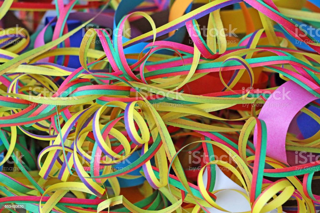 Colorful Rings and Strings stock photo