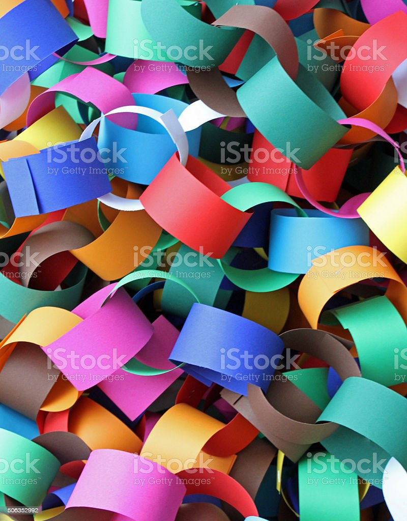 Colorful Rings stock photo