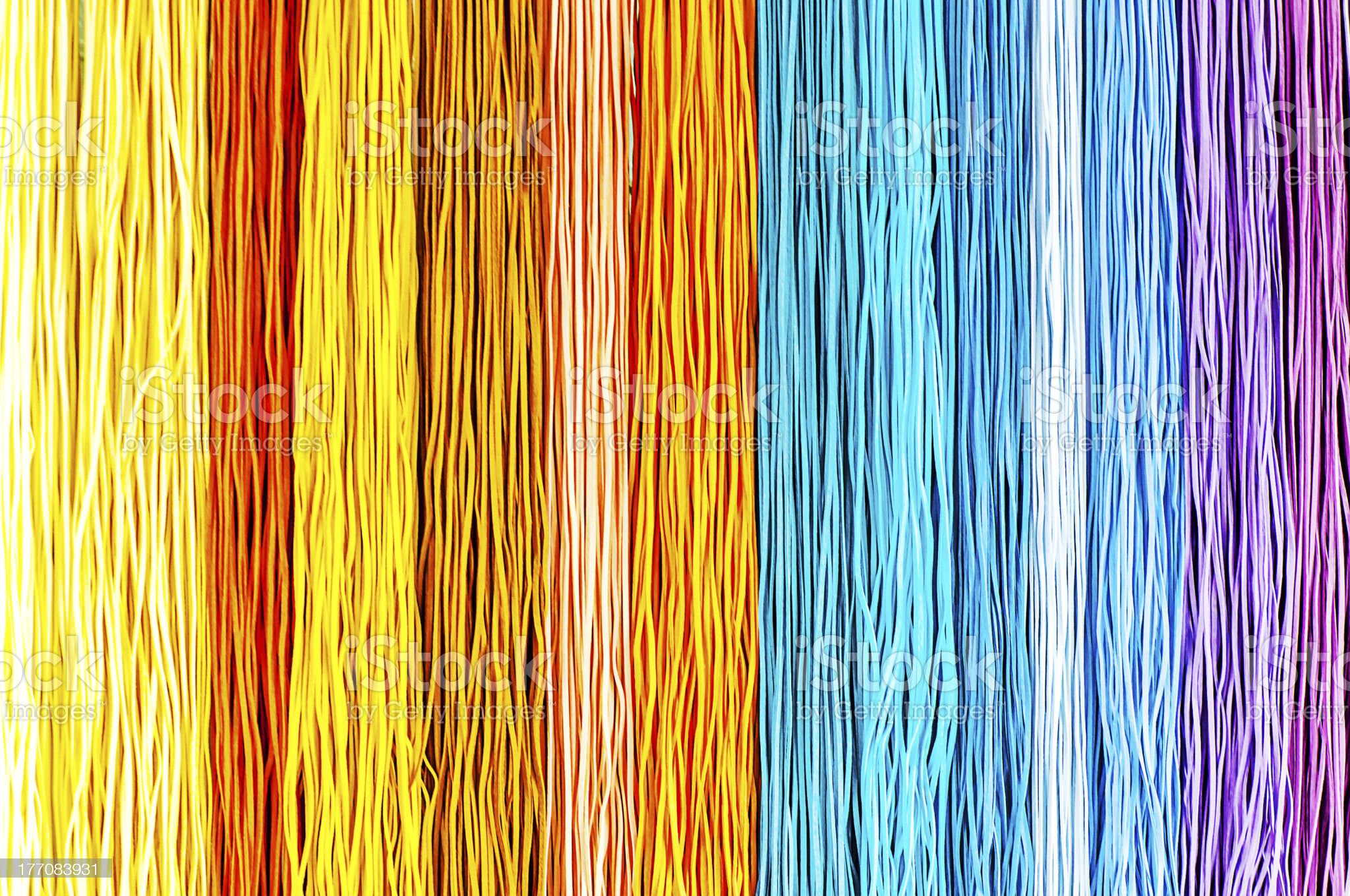 Colorful rope royalty-free stock photo