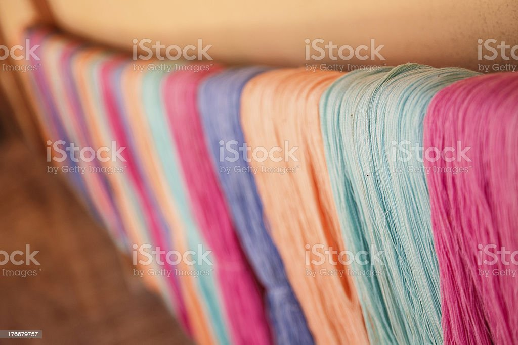 colorful ropes royalty-free stock photo