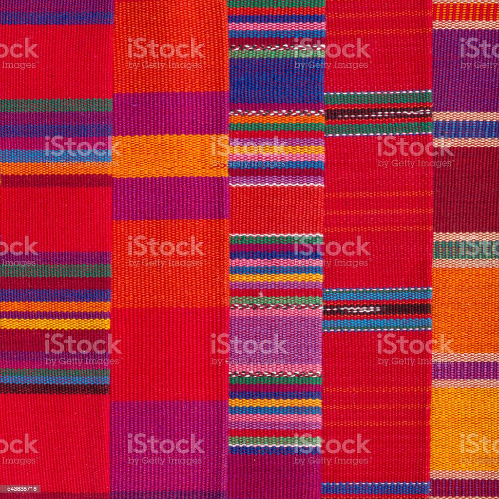 Colorful Rug Blanket Cotton Wool Background stock photo