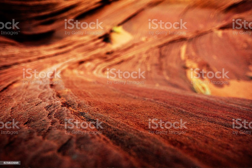 colorful sandstone lines stock photo