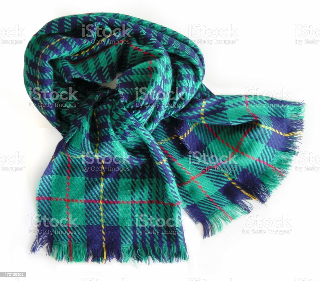 colorful scarf royalty-free stock photo