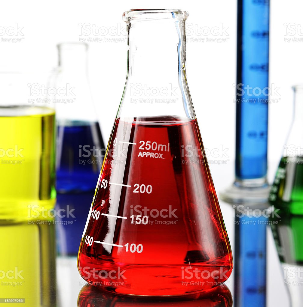 Colorful Science royalty-free stock photo