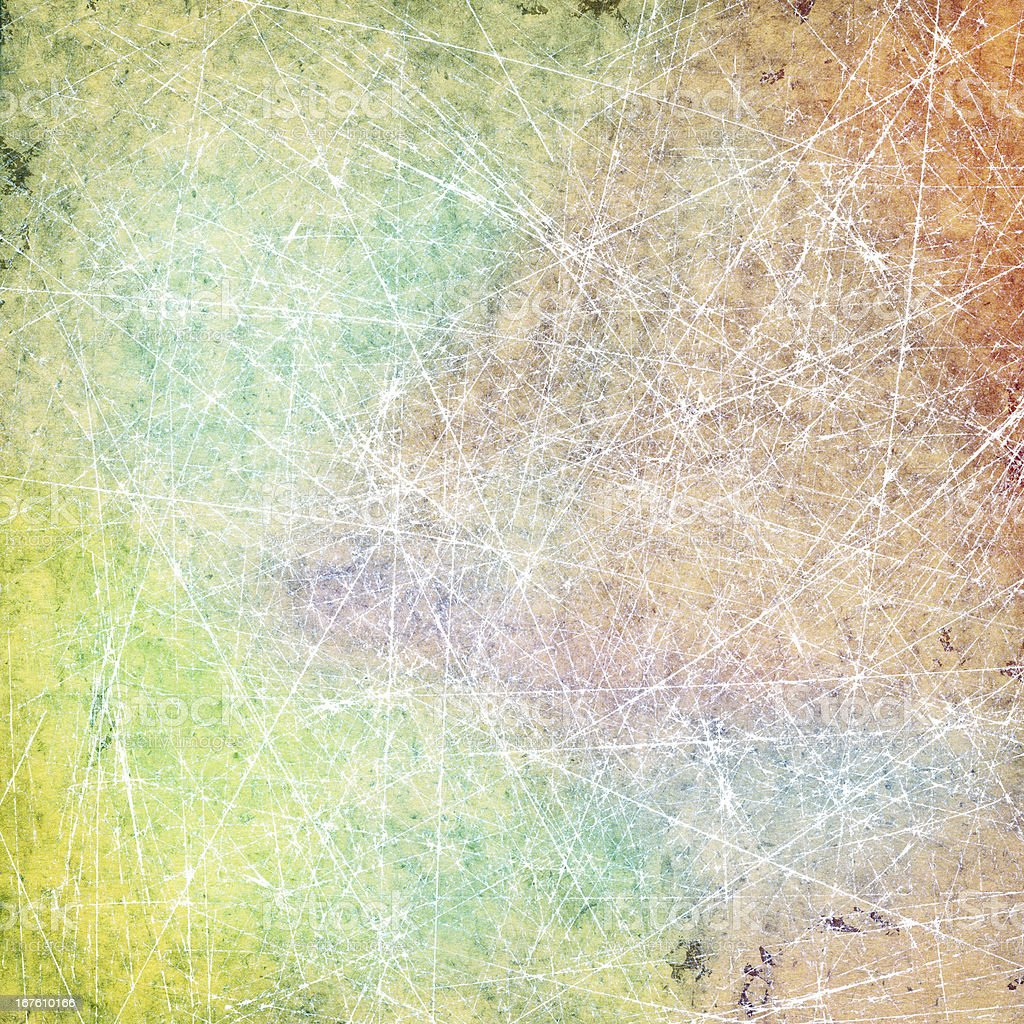 Colorful scratched background royalty-free stock photo