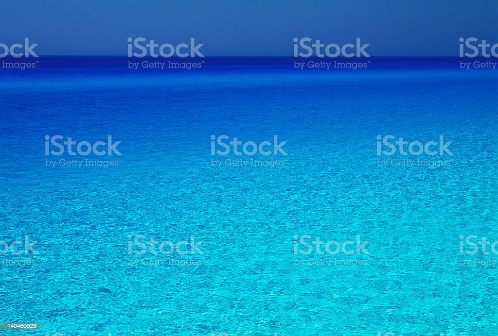 colorful sea royalty-free stock photo