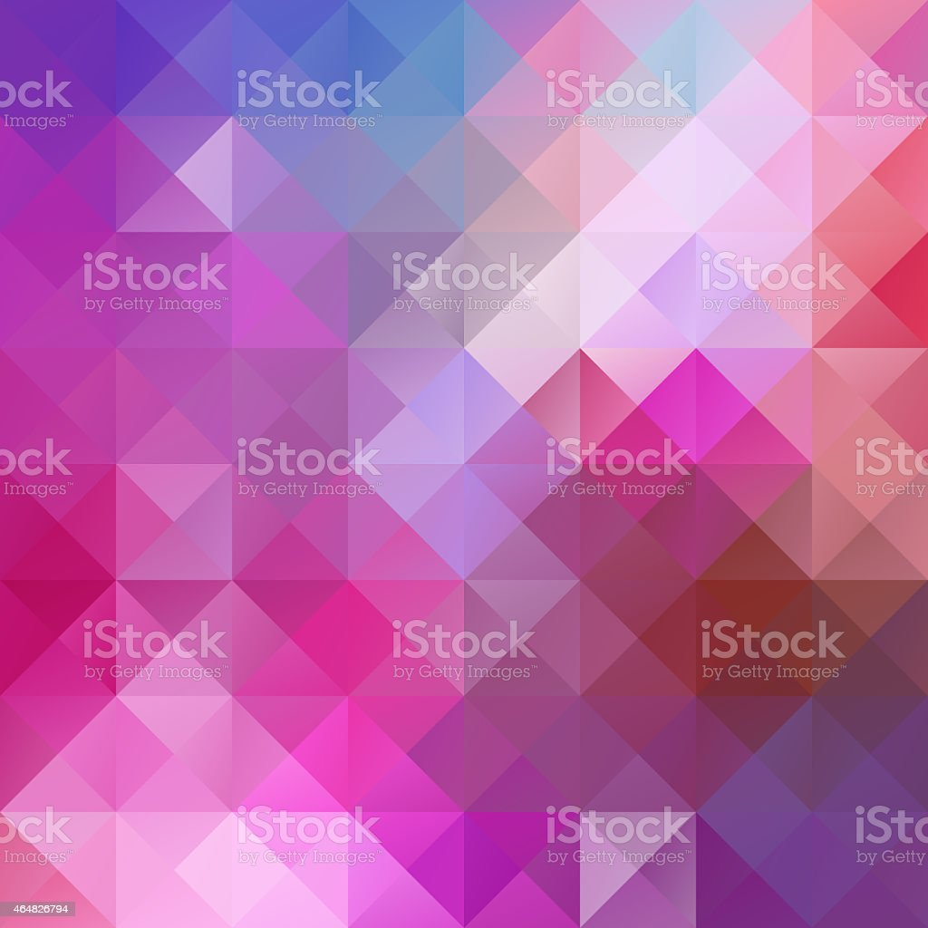 Colorful Seamless Mosaic Background, Creative  Business Design Templates stock photo