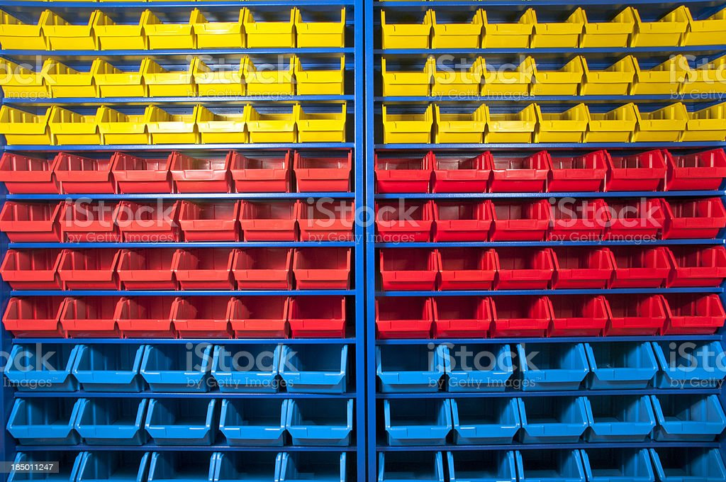 Colorful Shelves Backgrounds royalty-free stock photo