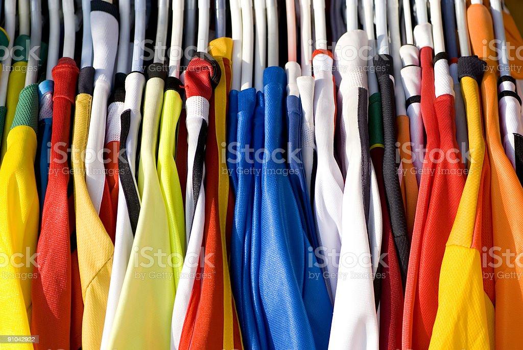 Colorful Shirts stock photo