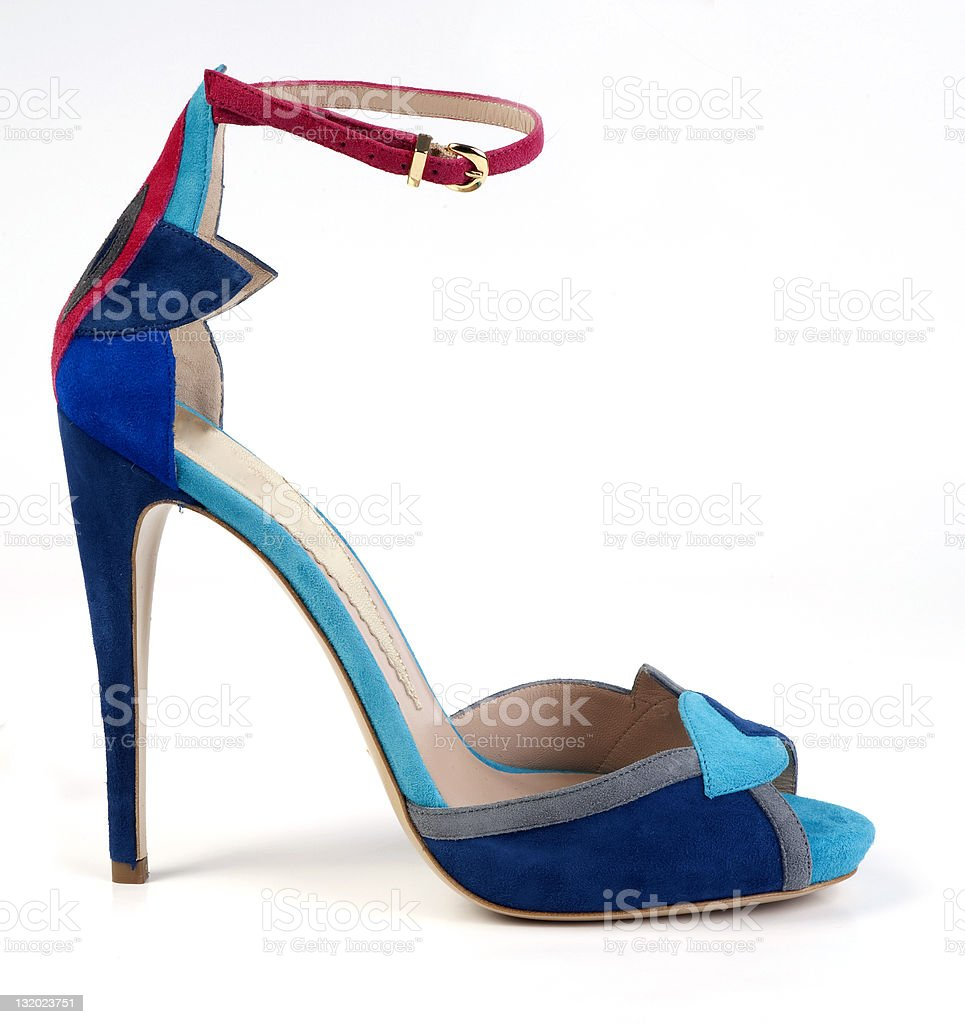 colorful shoe royalty-free stock photo
