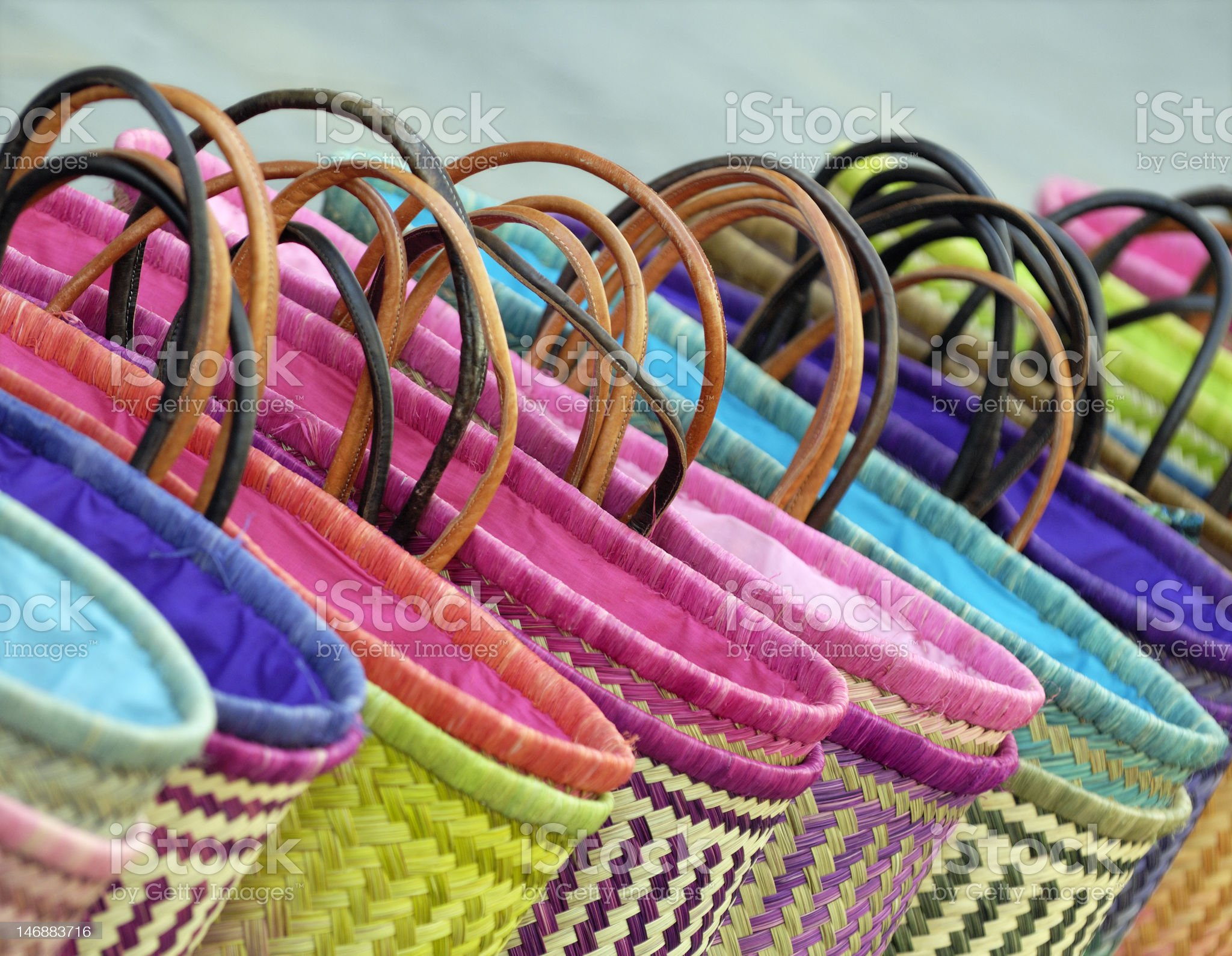 Colorful shopping bags royalty-free stock photo