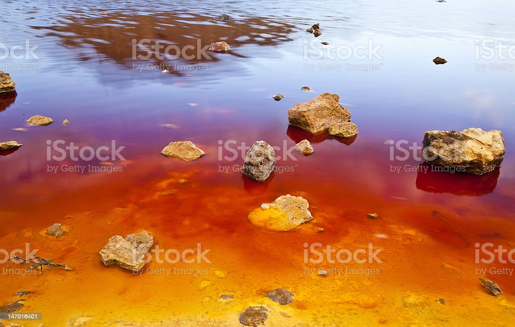 Colorful shore royalty-free stock photo